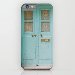 Mint Door iPhone Case