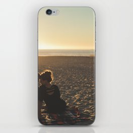 Couple Courting iPhone Skin