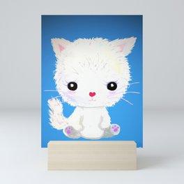 Pretty Persian (Blue) Mini Art Print