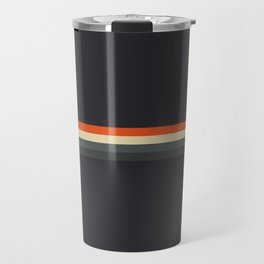 Fujitaka - Classic Dark Retro Stripes Travel Mug