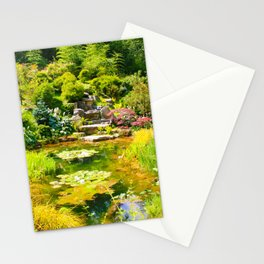 The Tea Garden Stationery Cards