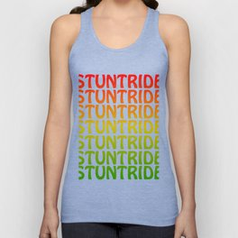 Fan of stunt routines and rides? Grab this colorful and creative tee design made perfectly for you!  Unisex Tank Top