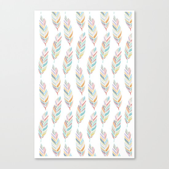 Feathered Canvas Print
