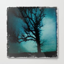 black tree Metal Print
