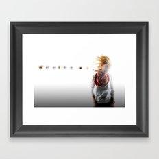 Hit Framed Art Print