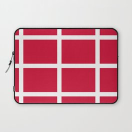 abstraction from the flag of denmark Laptop Sleeve