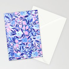 Nonchalant Blue Stationery Cards