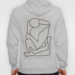Abstract line art 2 Hoody