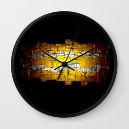 Golden Era Path  Wall Clock