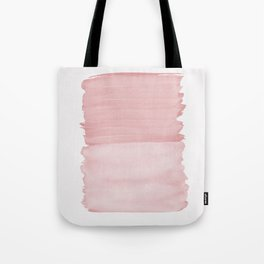 Blush Abstract Minimalism #1 #minimal #ink #decor #art #society6 Tote Bag