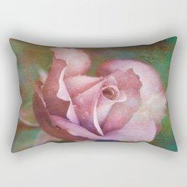 Rose Of Romance Rectangular Pillow