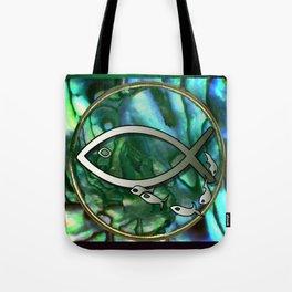 Paua Fishing Tote Bag