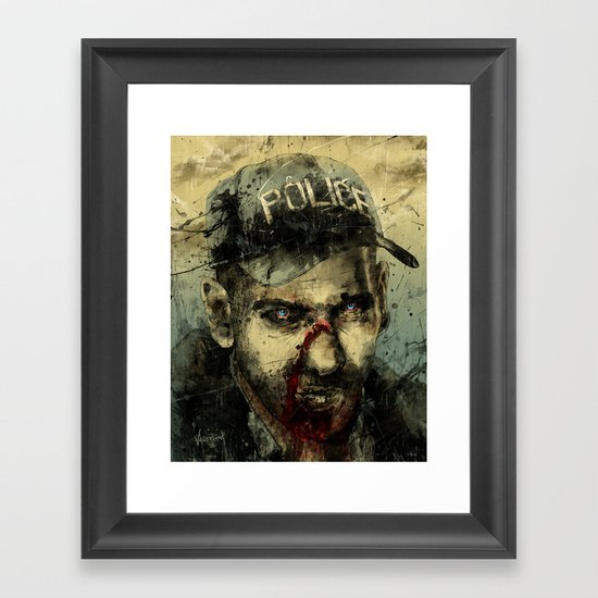 Lame Brain Shane Framed Art Print