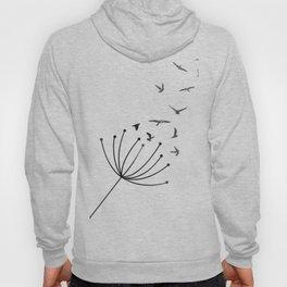 Dandelion Flying Birds Hoody