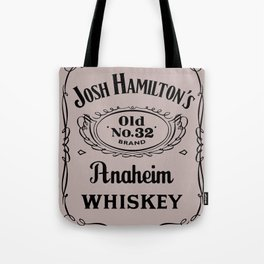 Josh Hamilton New Whiskey Brand   Tote Bag