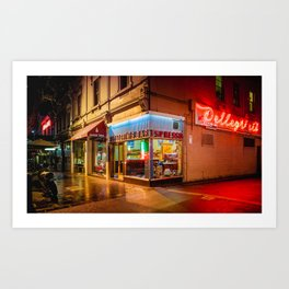 Late Night Espresso Art Print