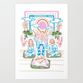 The Unbearable Hotness of Being Art Print