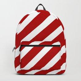 Candycane Large Stripe Backpack