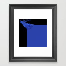 hirsch  Framed Art Print