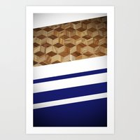 wooden Art Prints featuring Wooden  by Fox Industries