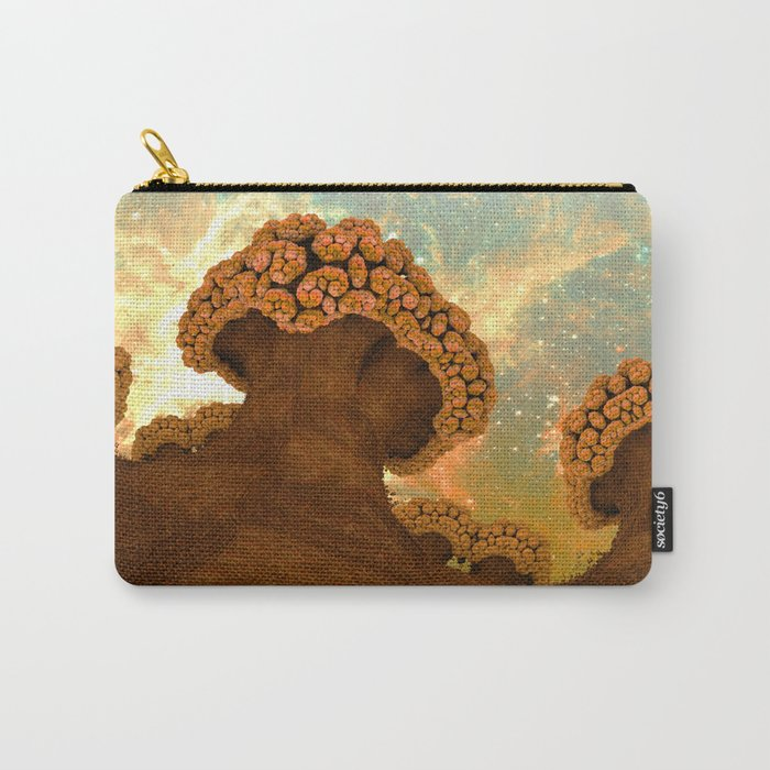Broccoli Planet in Fall Carry-All Pouch