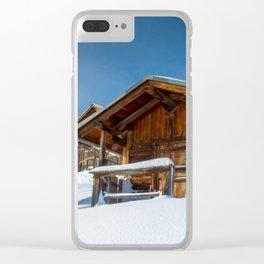 Alp da Stierva Clear iPhone Case