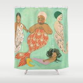 Everyone a Mermaid Shower Curtain