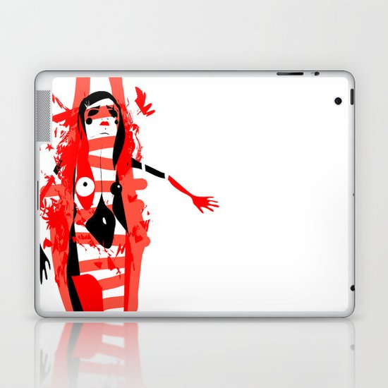 Run - Emilie Record Laptop & iPad Skin