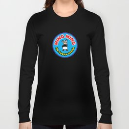 Ming Ming The Happy Panda - Color Long Sleeve T-shirt