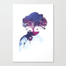 Lonely childhood Canvas Print