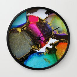 Ink 37 Wall Clock