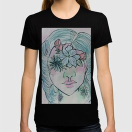 Flowered T-shirt