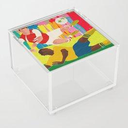 Deciding Game. Acrylic Box