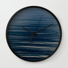 Beautiful Calm Coastal Waters Wall Clock