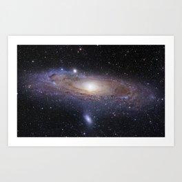Galaxy Milky Way Art Print