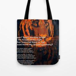 Thy Fearful Symmetry  Tote Bag