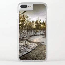 Hay River Clear iPhone Case