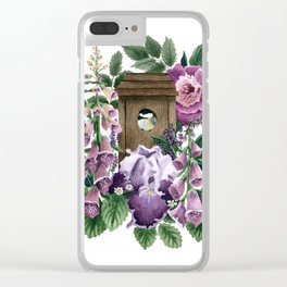Garden Home Clear iPhone Case