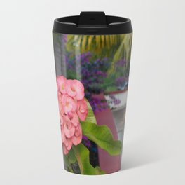Flowers at Uxmal II Travel Mug