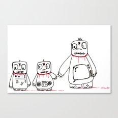 e family Canvas Print
