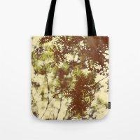 emerald Tote Bags featuring Emerald by Alicia Bock
