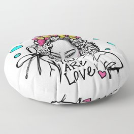 #STUKGIRL ESSA Floor Pillow