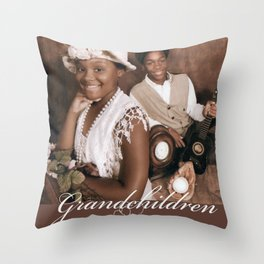 Grandchildren Throw Pillow