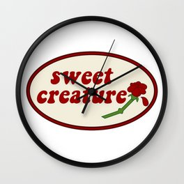 "Sweet Creature "" Wall Clock"