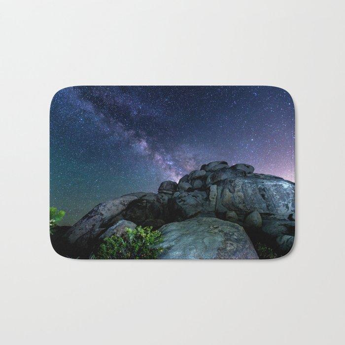 Milky Way Rock Bath Mat