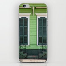 Green Creole Cottage iPhone & iPod Skin