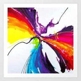 Abstract Art Britto - QB294 Art Print