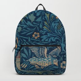 "William Morris ""Birds"" 1. Backpack"