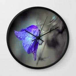Flowertime Wall Clock