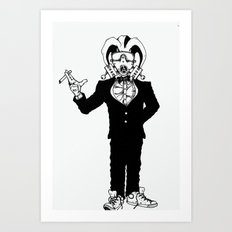 Wealthy Rebel Art Print